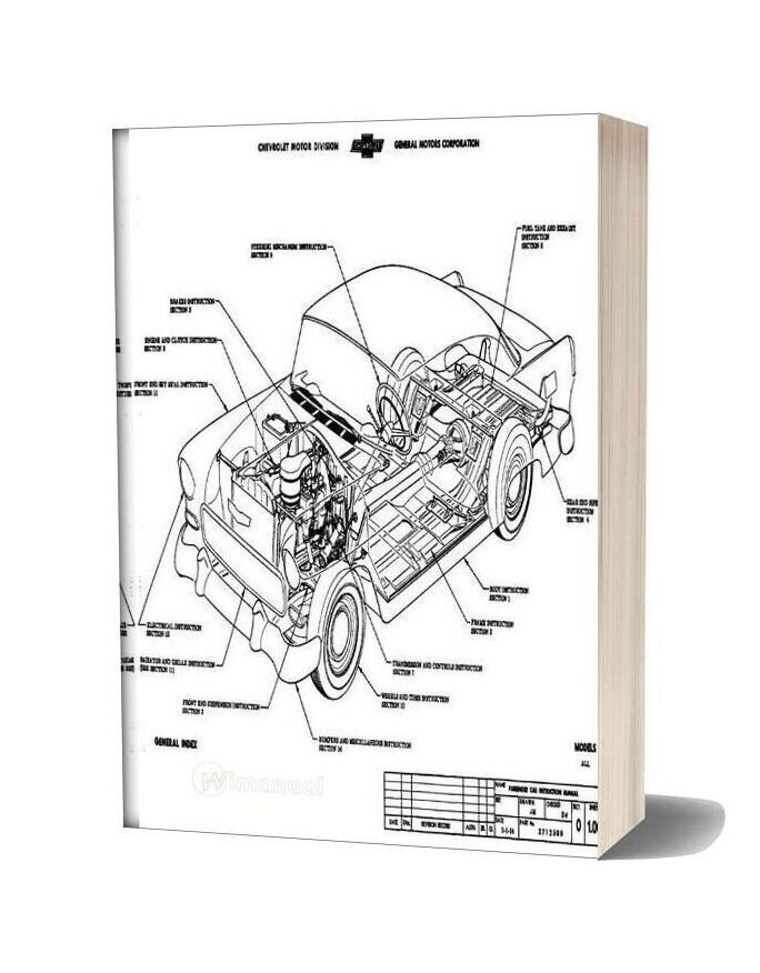 1955 Chevrolet Assembly Manual