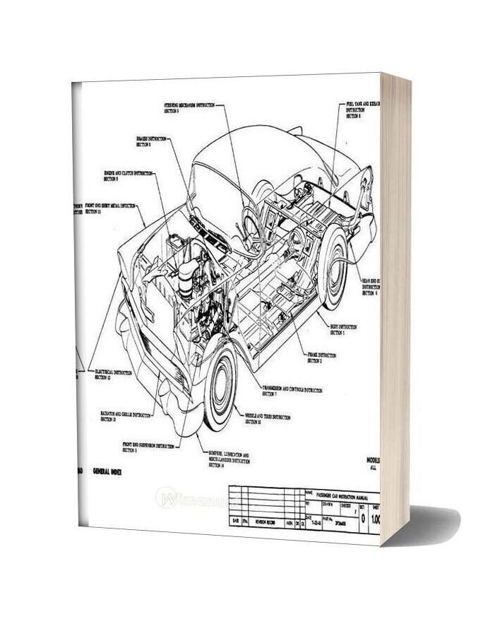 1956 Chevrolet Assembly Manual