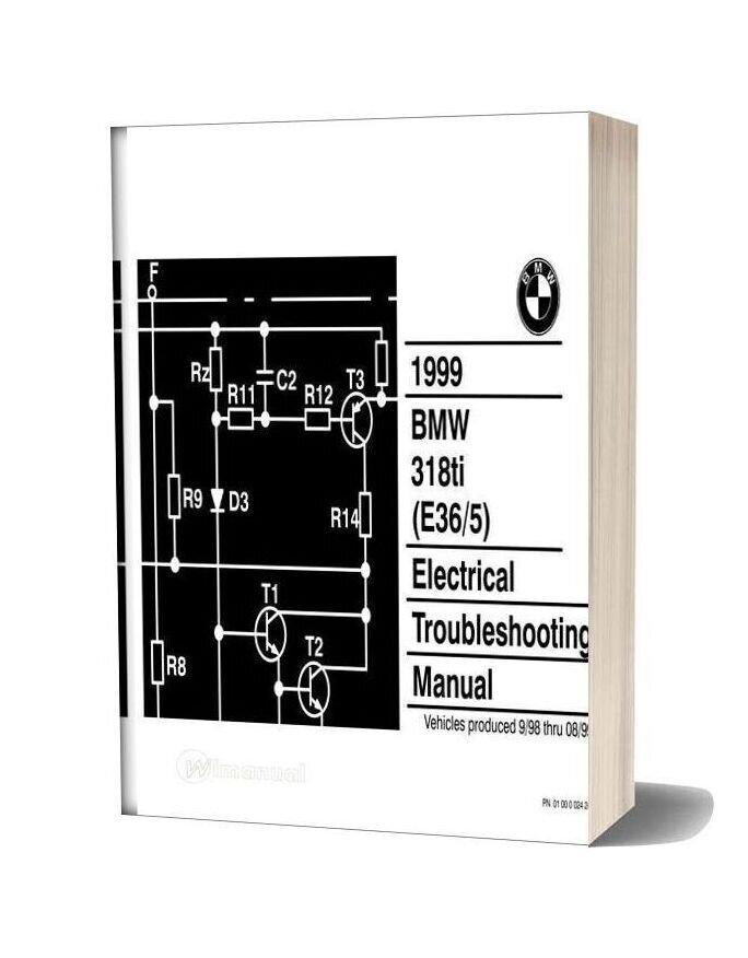 1999 Bmw 318ti Electrical Troubleshooting Manual