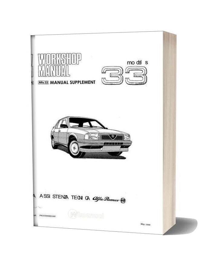 Alfa Romeo Workshop Manual Full 7ie