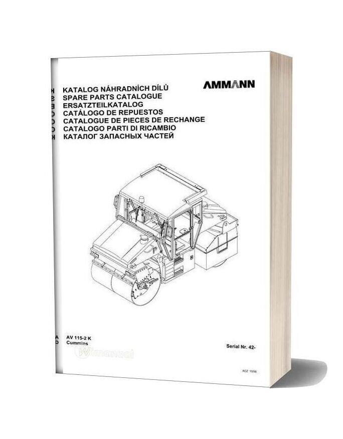 Ammann 0610 Av115 2k Parts Catalogue