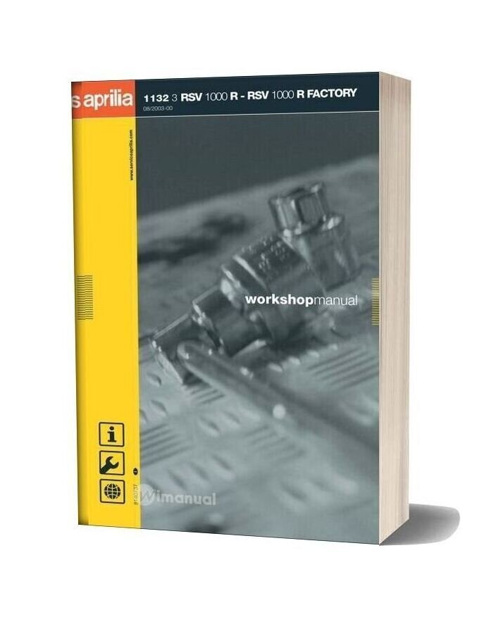 Aprilia Rsv 1000r Factory Workshop Manual