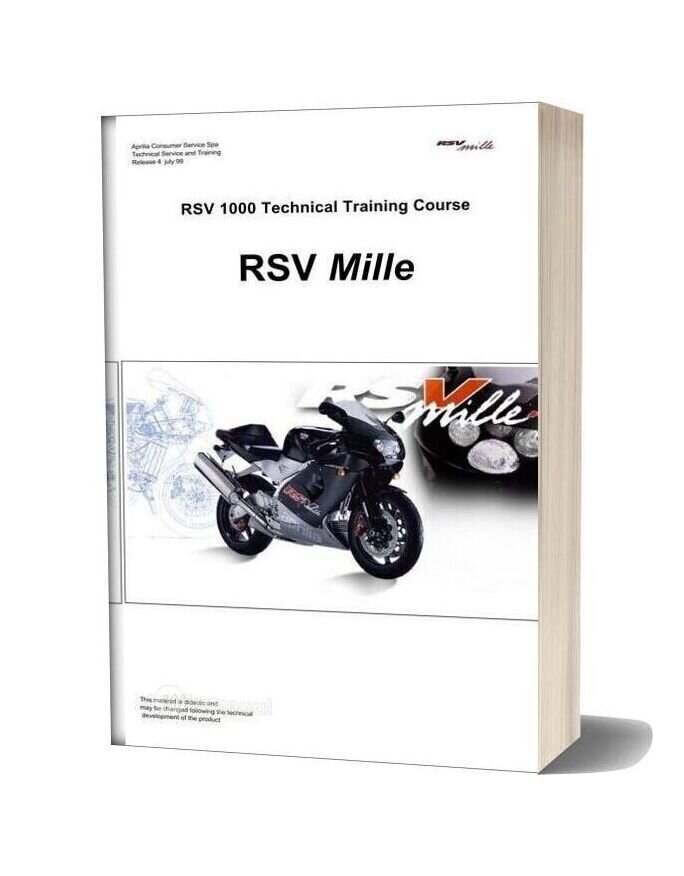Aprilia Rsv Mille Technical Training Course