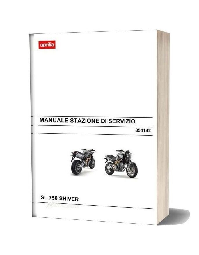 Aprilia Sl 750 Shiver Workshop Manual Italy