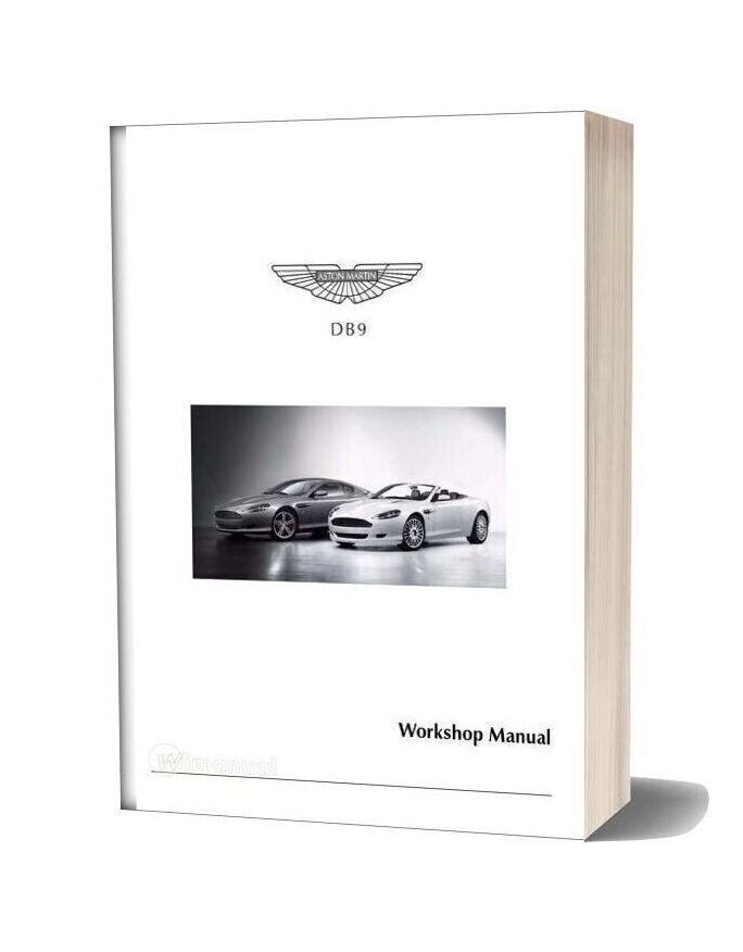 Aston Martin Workshop Repair Manual 2005 2006 2007 2008 2009 2010