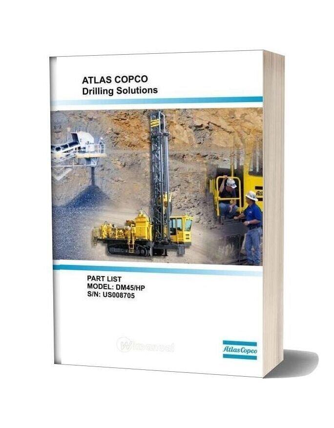 Atlas Copco Dm45 Parts Catalog