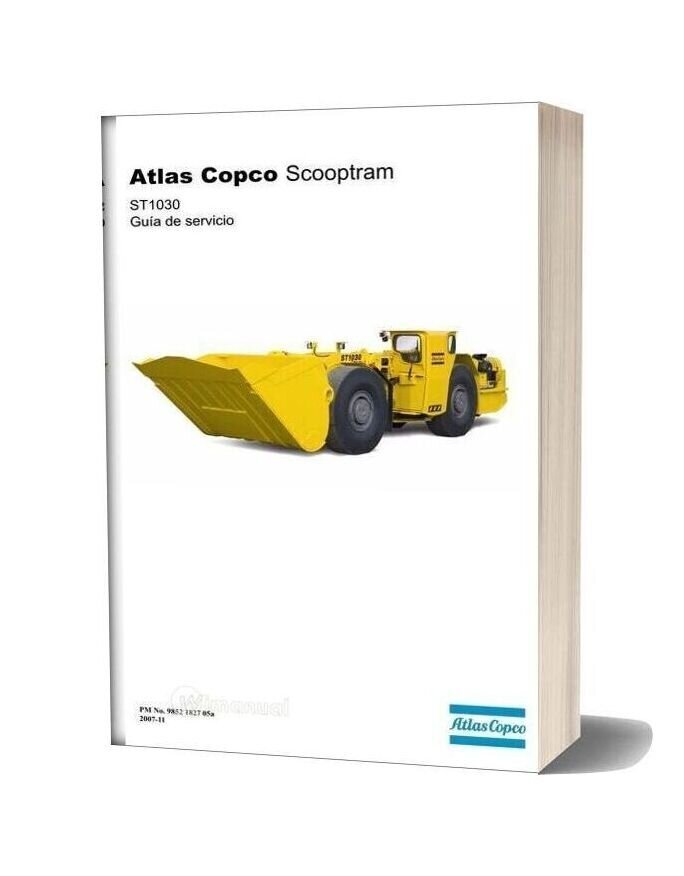 Atlas Copco54660128 9852 1827 05a Service Manual St1030