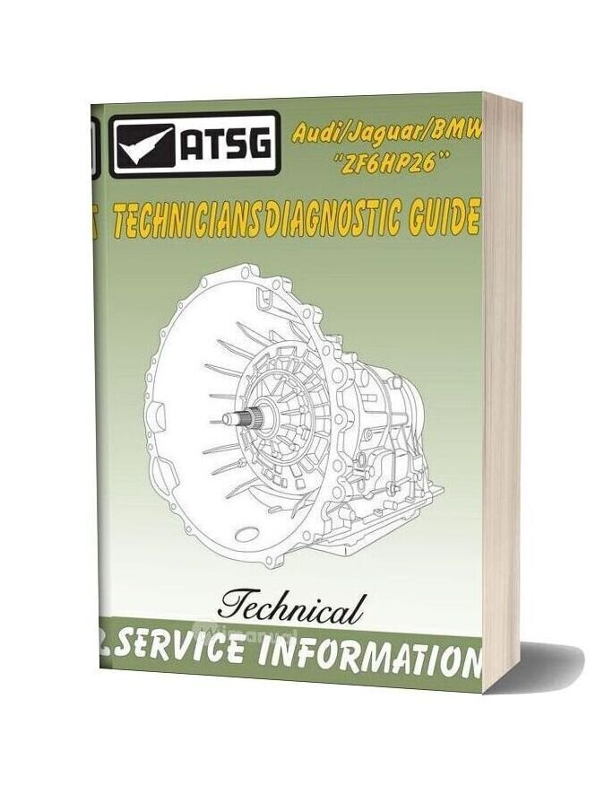Atsg Transmission 6hp26 Tg Technical Service
