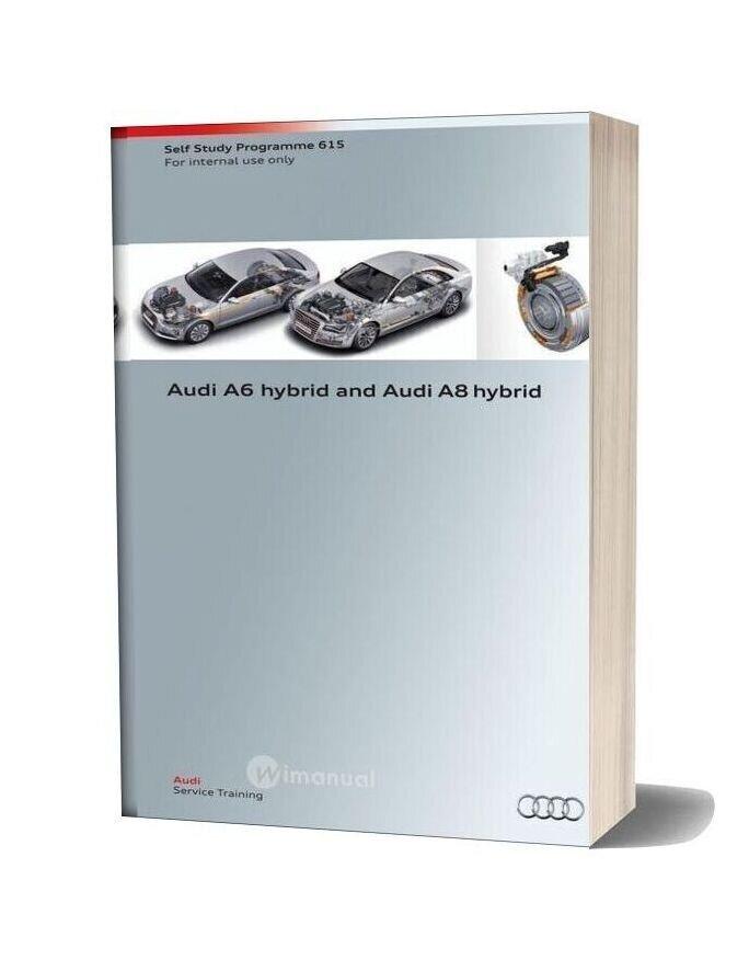 Audi A6 Hybrid And Audi A8 Hybrid Service Training