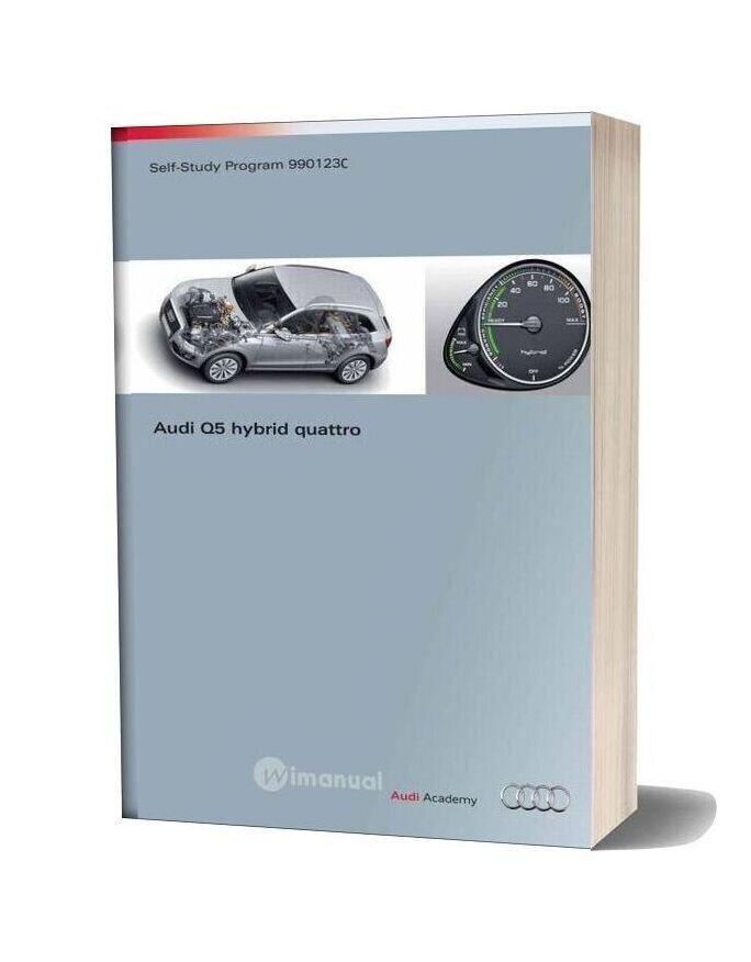 Audi Q5 Hybrid Quattro 2012 Self Study Service Training