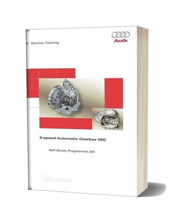 Audi Service Training 6 Gear Automatic Speed 09g