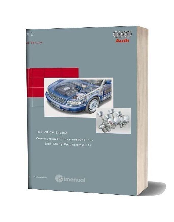 Audi Service Training V8 5vengine
