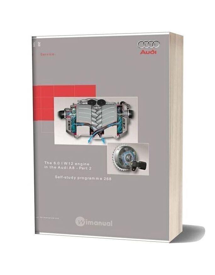 Audi Ssp 268 6 0l W12 Engine In The Audi A8 2