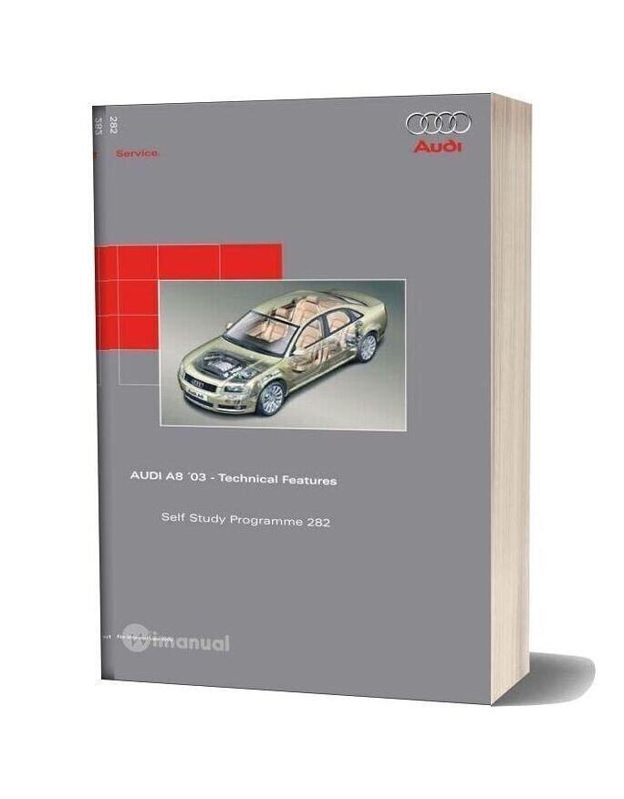 Audi Ssp 282 Audi A8 03 Technical Features