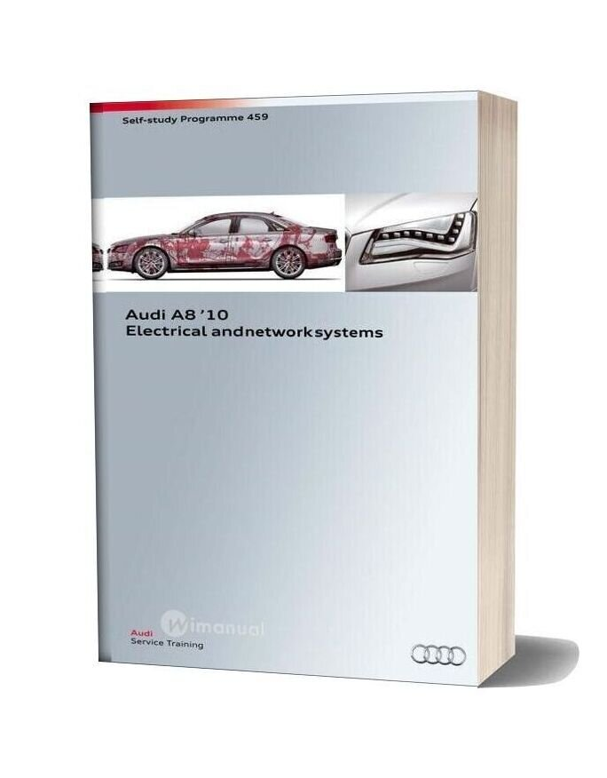 Audi Ssp 459 Audi A8 10 Electrical And Network Systems