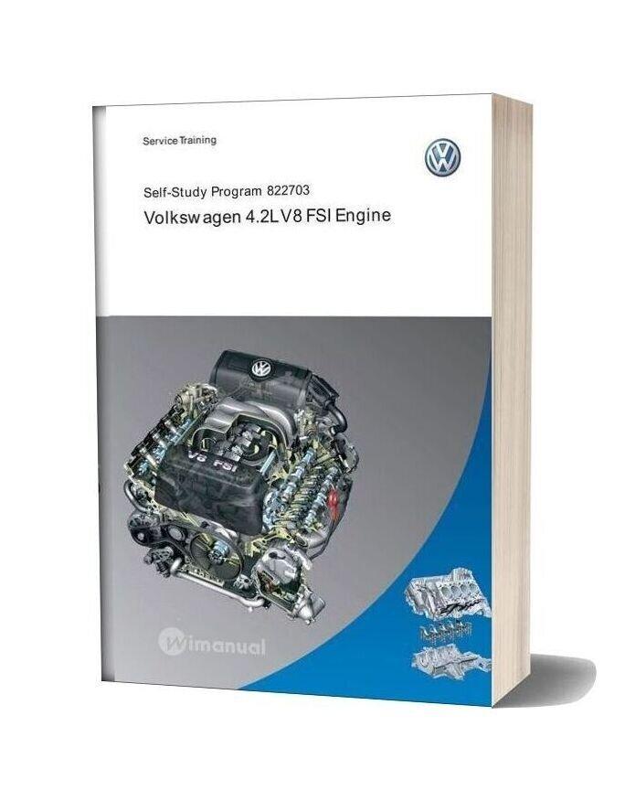 Audi Ssp 822703 4 2 L V8 Fsi Engine Volkswagen