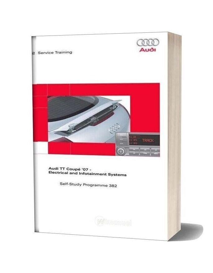 Audi Tt Coupe 2007 Electrical Arrangement And Infotainment Service Training