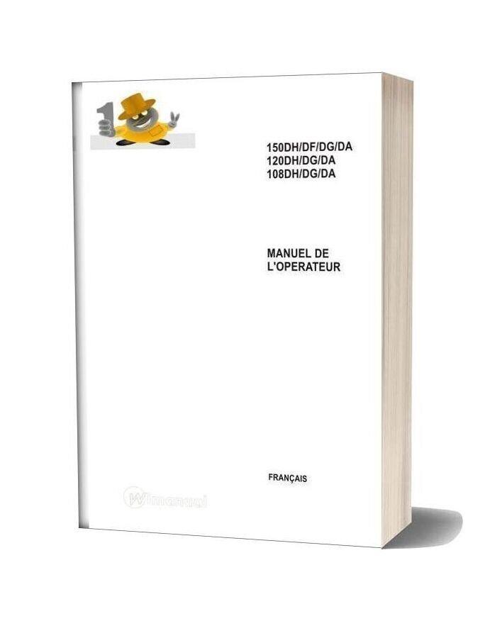 Ausa Forklift 150dg Service Manual [Fr]