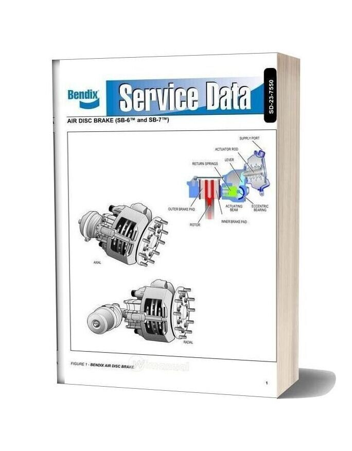 Bendix Air Disc Brake Service Data