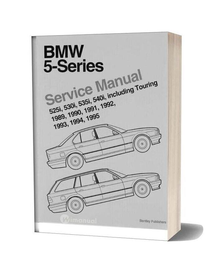 Bentley Bmw 5 Series Service Manual