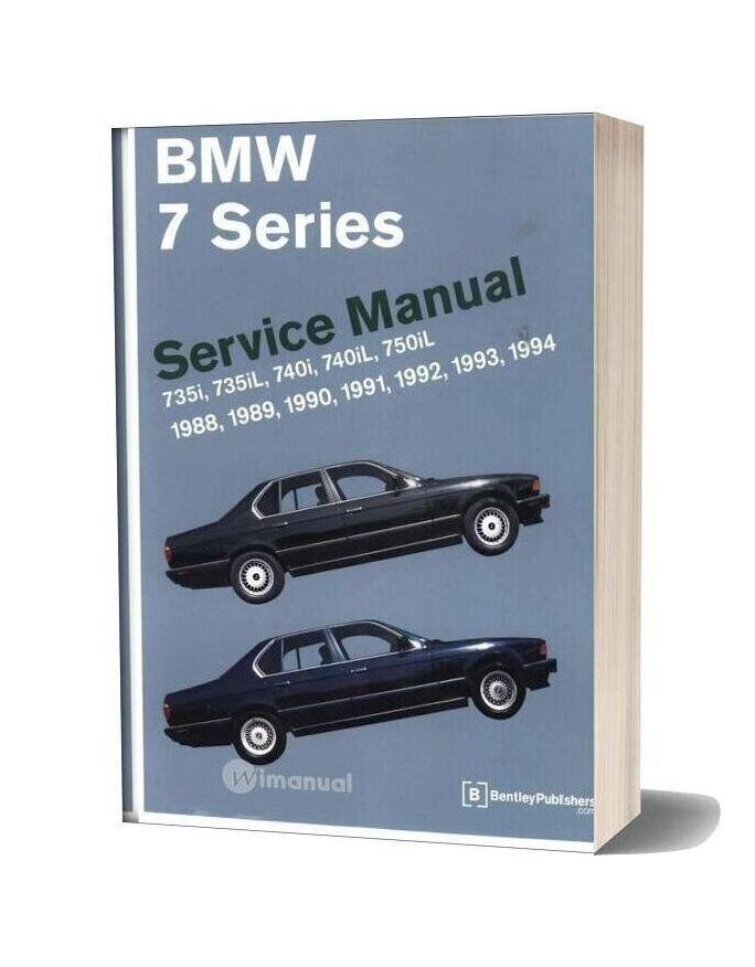 Bentley Bmw 7 Series E32 Service Manual