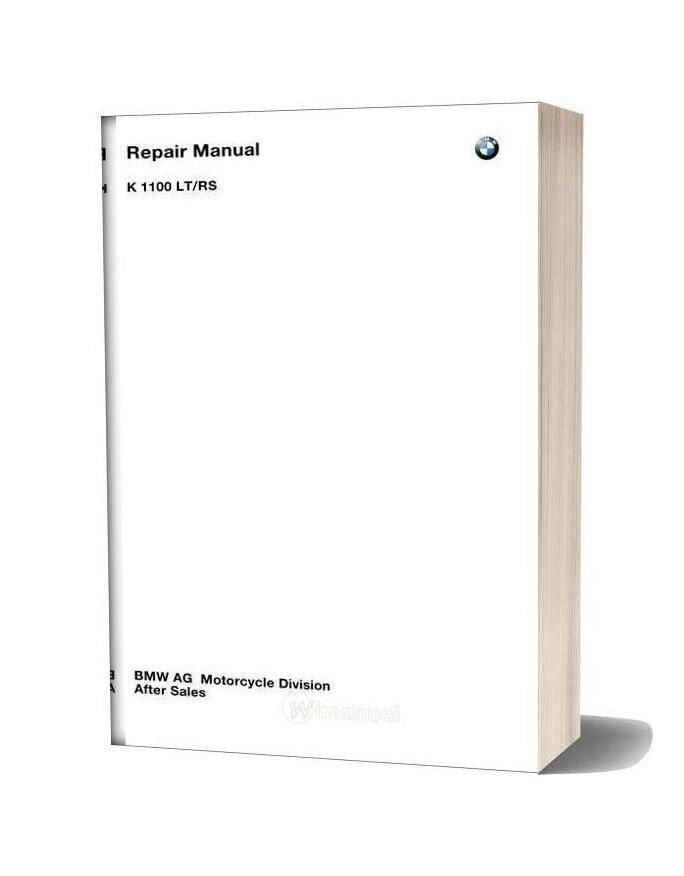 Bmw K1100lt K1100rs Service Repair Manual