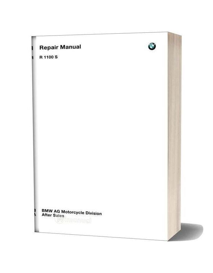 Bmw R1100s Service Repair Manual