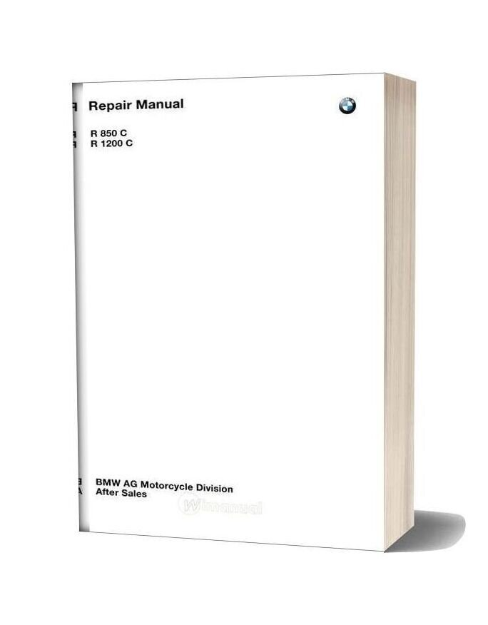 Bmw R850c R1200c Service Repair Manual