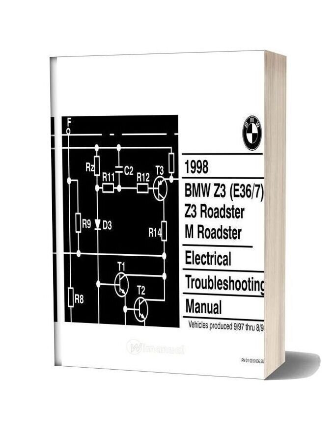 Bmw Z3 M Roadster 1998 Electrical Troubleshooting Manual