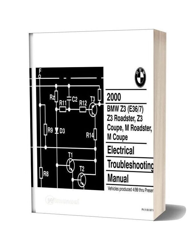 Bmw Z3 M Roadster Z3 M Coupe 2000 Electrical Troubleshooting ManualWiManual