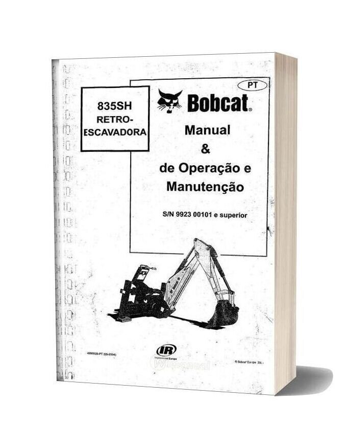 Bobcat 835sh Operation And Maintenance Manual Spanish