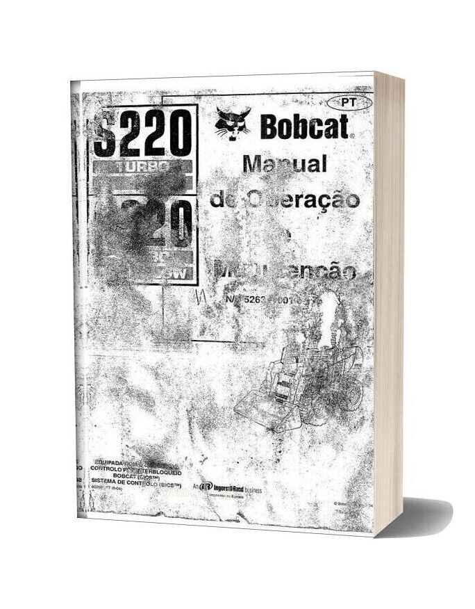 Bobcat S220 Operator Manual Spanish