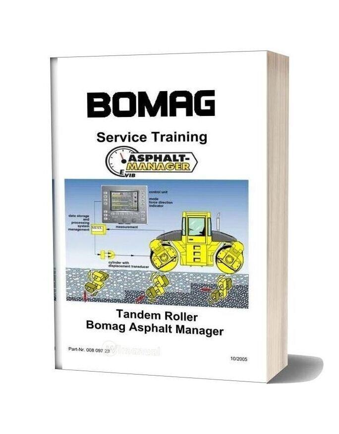 Bomag Asphalt Manager Training Manual