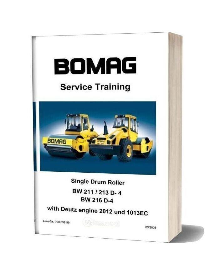 Bomag Bw211 Service Training