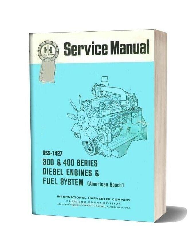 Bosch American 300 & 400 Series Diesel Engine Service Manual