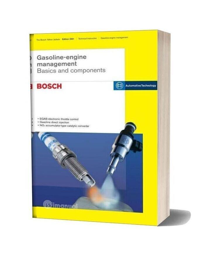 Bosch Gmbh Gasoline Engine Management Basics Components