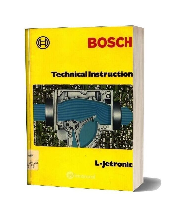 Bosch Technical Instruction L Jetronic