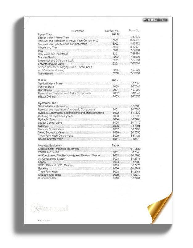 Case 580 Super K Loader Backhoe Service Manual
