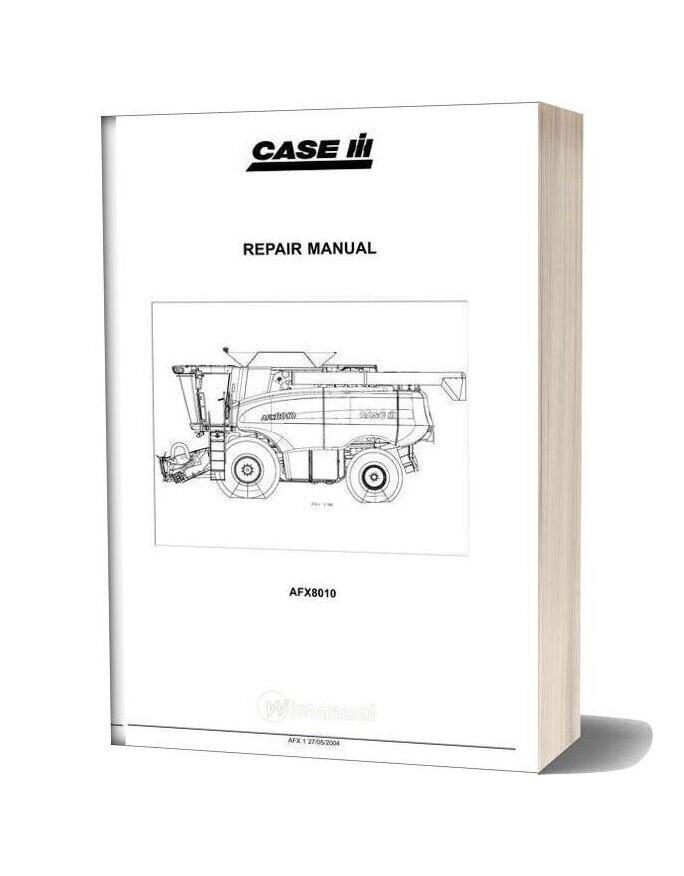 Case Afx8010 Service Manual
