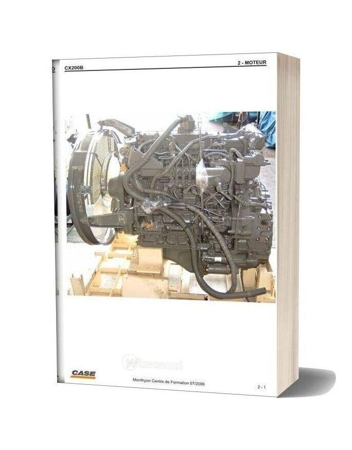 Case Cx200b Engine Fr
