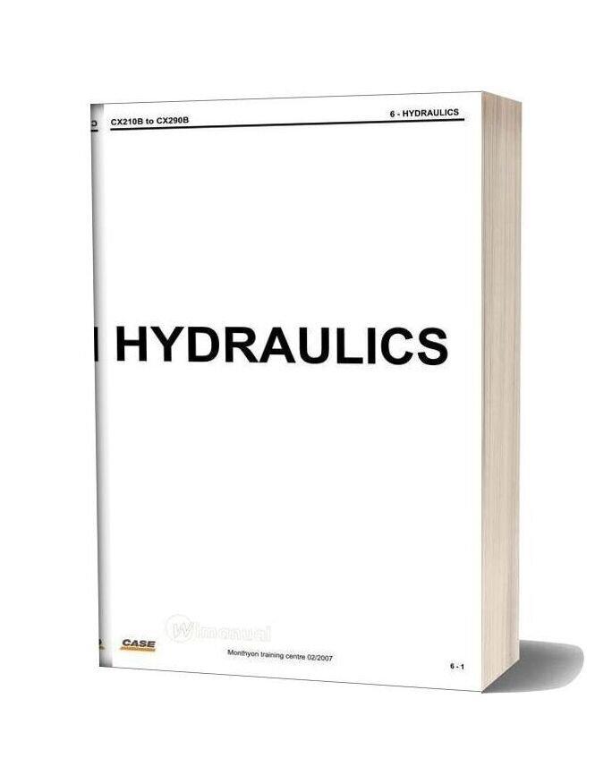 Case Cx210b 290b Hydraulics