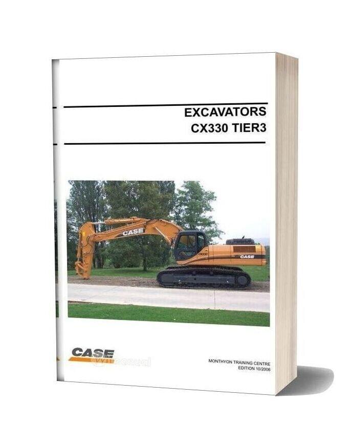 Case Excavator Crawler Cx330 Tier3 Training