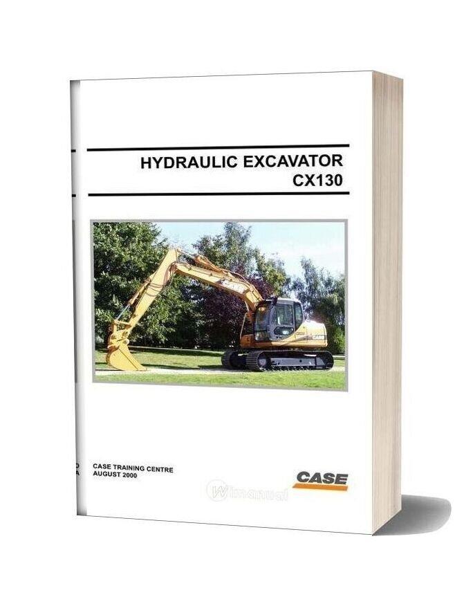 Case Hydraulic Excavators Cx130 Shop Manual