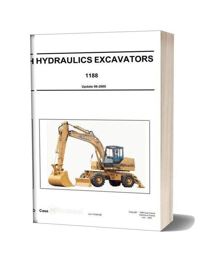 Case Hydraulics Excavators 1188 Shop Manual