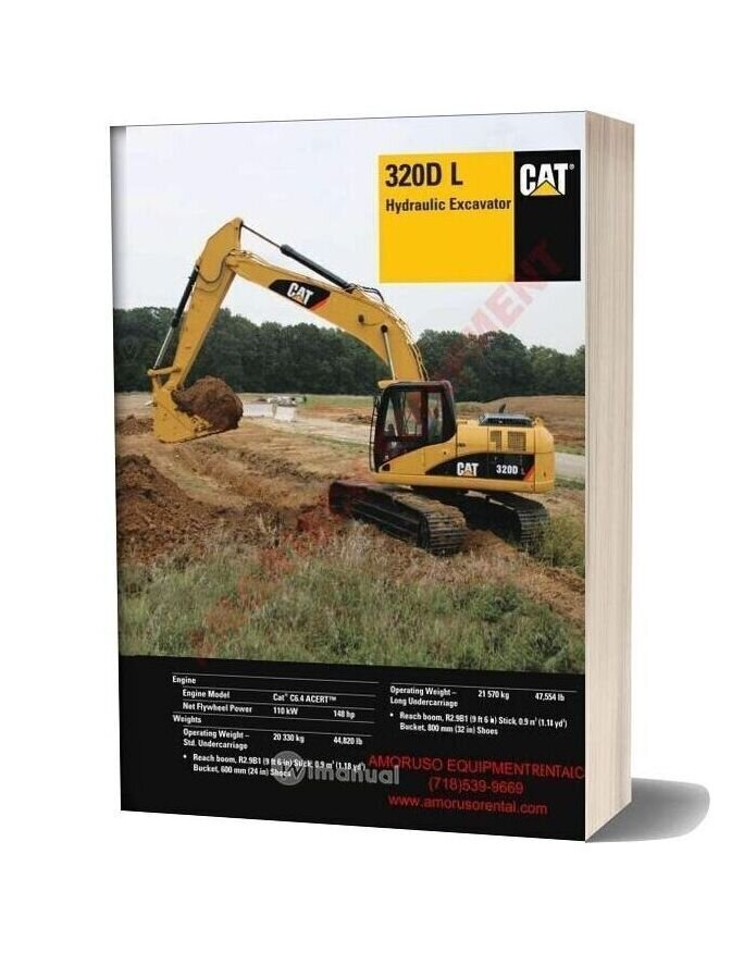Cat 320 Dl Technical Specifications