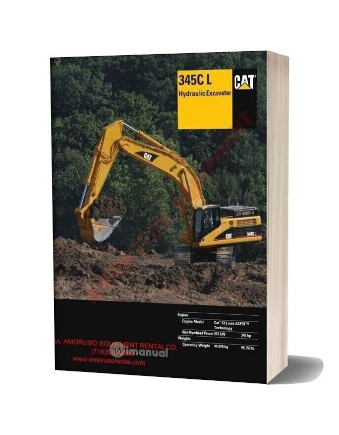 Cat 345cl Technical Specifications