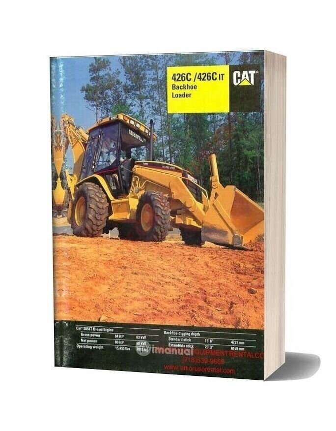 Cat 426 Technical Specifications