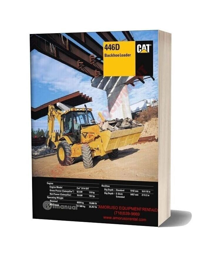 Cat 446 Technical Specifications