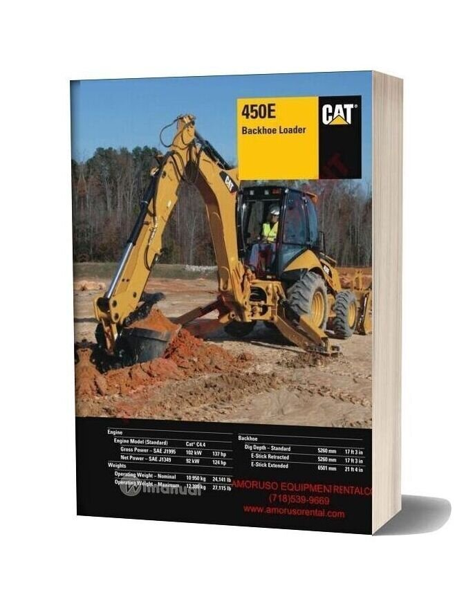 Cat 450e Technical Specifications