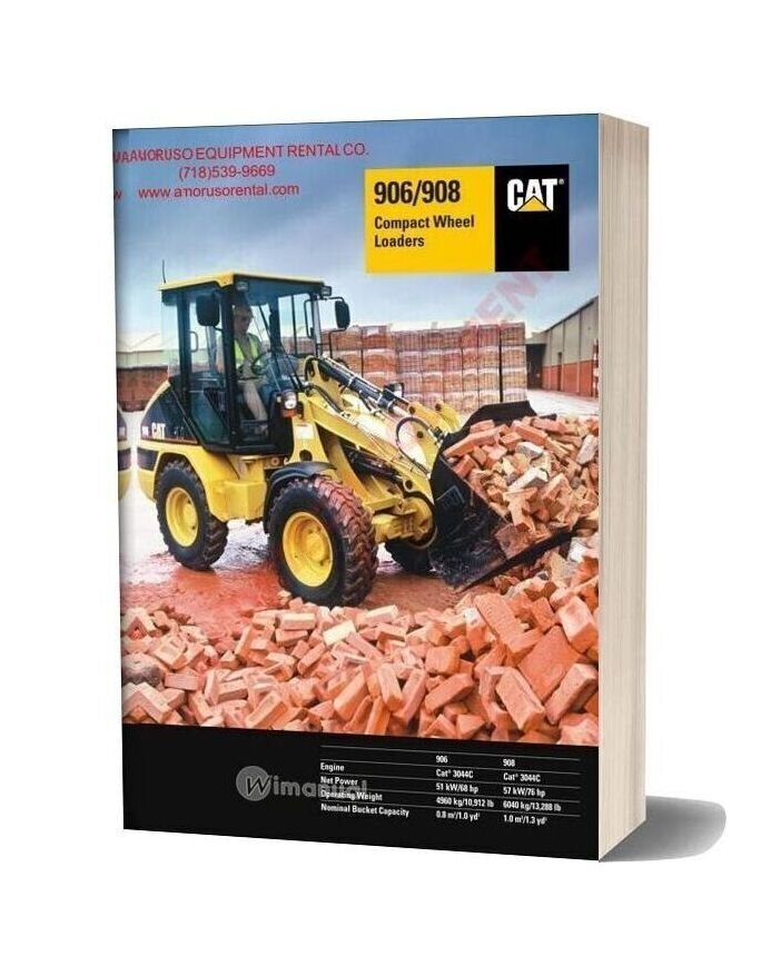 Cat 906g Technical Specifications